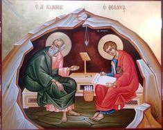 Religious Icons, Religious Art, John The Evangelist, Orthodox Icons, Roman Catholic, Apocalypse, Mystic, Creations, Miniature