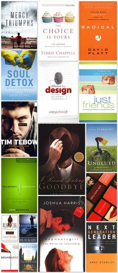 Best Christian Book Cover Designs for Inspiration- I've read just friends and let me say, every teen between the ages of 12-20 need to read this book! It is great!