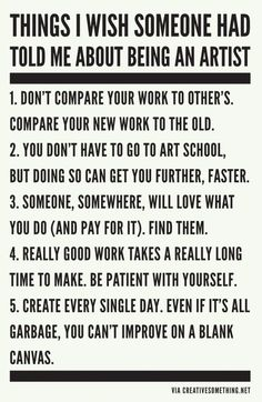 5 Rules To Thrive As An Artist | Words Of Wisdom | The Tao of Dana