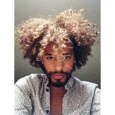 You've gotta love a Black man with lovely curls