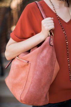 Carry All Ginger Red Tote Bag at reddressboutique.com