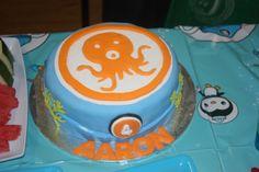 Octonauts OctoAlert Cake