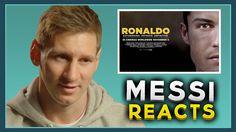 EXCLUSIVE: Lionel Messi reacts to the Cristiano Ronaldo movie trailer! R...