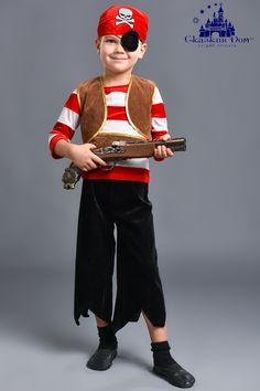 """""""Пират """"Бархатная тельняшка"""" (мини)"""" Рост: 92 - 98 см. Сайт:) http://skazkindom.dp.ua"""