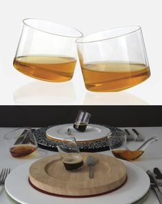 I really want the 'pipe' glass in the bottom image (by Sebastian Bergne)