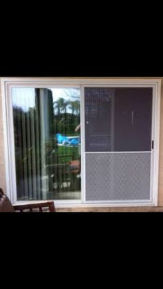 Sliding Screen Door With Lower Metal Sheet For Dogs