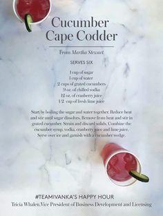 Cucumber Cape Codder