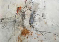 Loved and left | mixed media | 105 x 80 cm | 2015. Lots of new work online at joukekruijer.nl