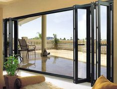 Winkraft is India's largest UPVC Windows & Doors manufacturer. We offer UPVC products like windows and doors that keep your home free from noise, dust and pollution. You can explore million of design range here for your windows and doors. Exterior Doors For Sale, Exterior Doors With Glass, Glass Front Door, Glass Door, Exterior Folding Doors, Folding Glass Patio Doors, Door Design, House Design, Aluminium Windows And Doors