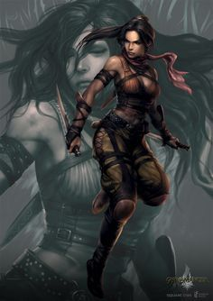 Fantasy female fighter - Cerca con Google