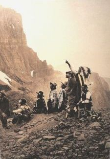 Photographer Edward Sheriff Curtis was hired by millionaire magnate J. P. Morgan in 1906 to document all that remained of traditional native Indian life and culture.