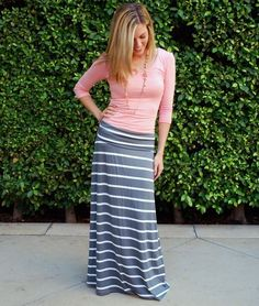 Maxi Skirt Outfits 043