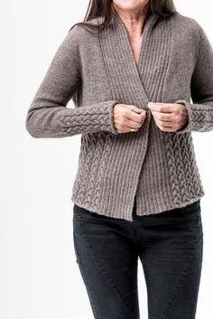 Nala Cardi pattern by Regina Moessmer - my knitwear designs
