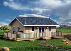 Family Home Plans offers the lowest prices on cabin house plans, featuring porches, decks, and screened rooms. Find your cabin house plans today! Cabin House Plans, Best House Plans, Country House Plans, Small House Plans, Small Farmhouse Plans, Farmhouse Style, Country Style, Home Modern, Monster House Plans