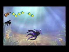 AQUARIUM BY SAINT-SAËNS - ANIMATION BY TOM SCOTT - PIANO DUET, SCOTT BROTHERS DUO - YouTube