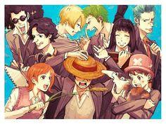 One Piece Anime, One Piece Comic, One Piece Fanart, One Piece Crew, One Piece Ship, One Piece Pictures, One Piece Images, Fanart Manga, One Piece Funny