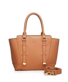 Mavis butterscotch leather shoulder tote Sale - SEGOLENE Sale