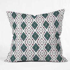 Lisa Argyropoulos Diamond Lane Throw Pillow