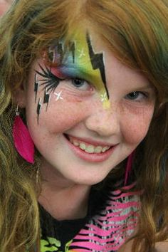 colormefacepainting | Rock Star Face Painting
