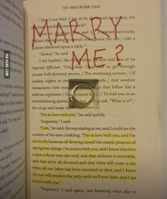 Funny pictures about This Could Be The Sweetest Or The Most Bitter Marriage Proposal. Oh, and cool pics about This Could Be The Sweetest Or The Most Bitter Marriage Proposal. Also, This Could Be The Sweetest Or The Most Bitter Marriage Proposal photos. Cute Relationship Goals, Cute Relationships, Relationship Quotes, Marriage Proposals, The Fault In Our Stars, Book Fandoms, Cute Quotes, Love Book, Book Quotes