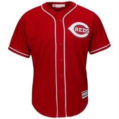 Cincinnati Reds Majestic 2015 Cool Base Jersey - Red