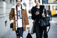 On the Streets of Milan Fashion Week Fall 2015 - Milan Fashion Week Fall 2015 Street Style Day 5-Wmag