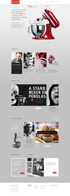 pinterest.com/fra411 #webdesign - KITCHEN AID - Caio Rogério