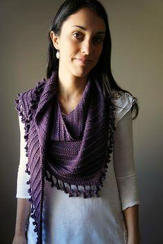 Joji Designs The Way from Brighton Shawl Knitting Pattern + Free Shipping!