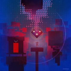 Artwork by Superbrothers for the FEZ remix record