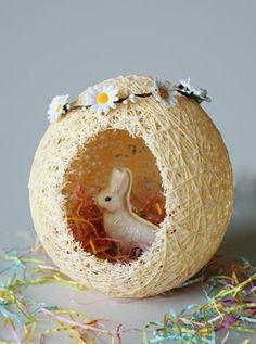Uovo realizzato con il fai da te