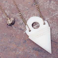 white talhakimt necklace