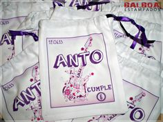 Bolsitas Personalizadas Violetta