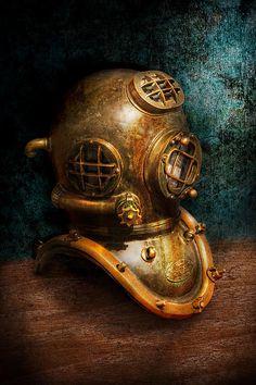 Diving Helmet...Mike Savad