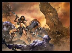 Related Image Warriors Pictures Metal Magazine Fantasy Artwork Heavy Comic