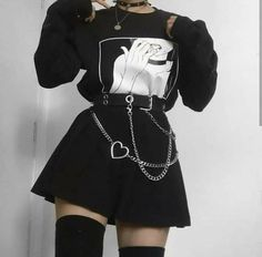 Indie Outfits, Gothic Outfits, Edgy Outfits, Retro Outfits, Cute Casual Outfits, Grunge Outfits, Goth Girl Outfits, Hipster Outfits, Rock Outfits