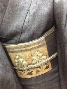 $きものギャラリー 睦月-仁平さんの着物と帯