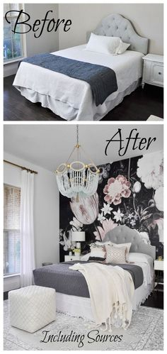 bedroom transformation. One Room Challenge – The Reveal: