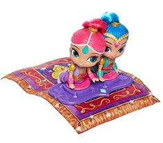 Boom Zahramay! Up and Away! Imaginations soar to new heights with a Shimmer and Shine Magic Carpet! Little genies can lift the carpet up and pretend to fly into enchanted adventures while the carpet m...