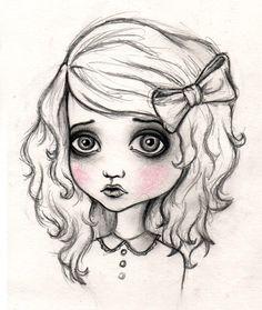 ... Drawing Idea, Cartoon Girls, Art Drawings, Cartoon Drawings, Drawings