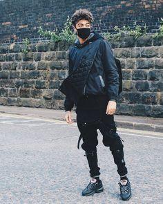 top scarlord scarlxrd vest jeans ripped jeans menswear sneakers nike denim overalls distressed denim