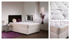 4FT6 DOUBLE MEMORY FOAM TUFTED DIVAN BED NEXT DAY DELIVERY !!!! BRAND NEW !!!!!!