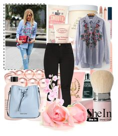 """""""SheIn"""" by modaxx ❤ liked on Polyvore featuring WithChic, Armani Jeans, Jon Richard, Lazy Days, Roxy, philosophy, Paul & Joe, mark., Clinique and Origins"""