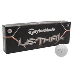 0363f6c1f4f5 Taylormade | Taylormade 12 Pack Lethal Tour Golf Balls | Golf Balls