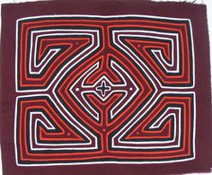 Ake Mola made by Kuna (Cuna) Indian people of Panama's San Blas Islands.