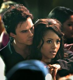 Bonnie and Damon Damon Salvatore, Vampire Diaries Seasons, Vampire Diaries The Originals, Ian Somerhalder, Delena, Kai, Damon And Bonnie, Vampire Diaries Wallpaper, Bonnie Bennett