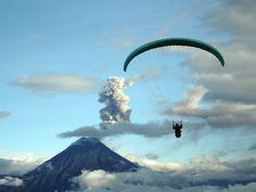 Paragliding Ecuador | Paragliding Banos Ecuador | Geotours