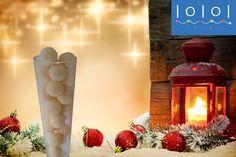Här ser du färgen grädd #vit på lampbollarna besök oss idag www.ioioi.se