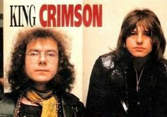 King Crimson w/Greg Lake Rock Artists, Music Artists, Adrian Belew, Psychedelic Bands, Greg Lake, Emerson Lake & Palmer, King Crimson, Hippie Culture, Jethro Tull