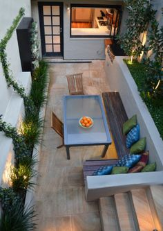 beautiful outdoor space for a city apartment