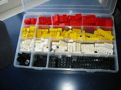 lego organization idea